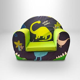 Ready Steady bed® kinderen Dino in de donkere design Foam fauteuil
