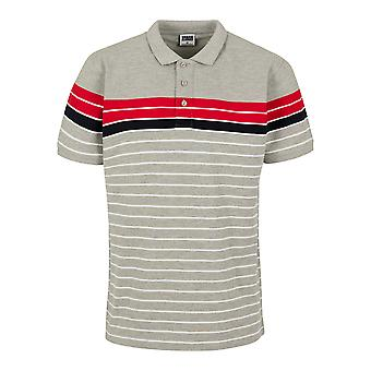 Urban Classics Men's Poloshirt Classic Stripe