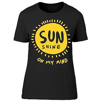 Sun Shine Mind Tee Women's -Image by Shutterstock