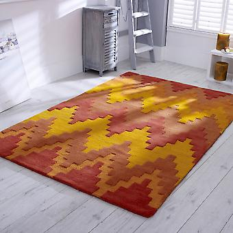 Donna 04 Tangier Rugs By Concept In Burnt Orange