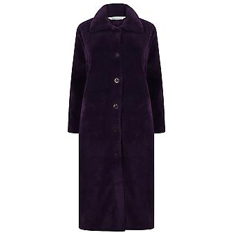 Slenderella HC4327 vrouwen ' s housecoats paarse dressing Gown