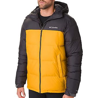 Columbia Golden Yellow mens Pike Lake Hooded vest