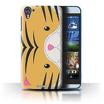 STUFF4 Case/Cover voor HTC Desire 826/tijger/dier steek Effect