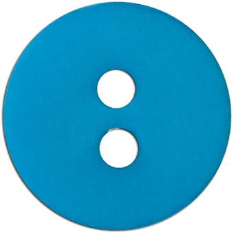 Slimline Buttons Series 1 Turquoise 2 Hole 5 8