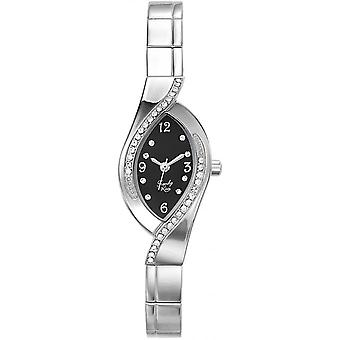 Watch Trendy Kiss TM3747-02 - woman oval steel gray