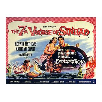The 7th Voyage of Sinbad Movie Poster Print (27 x 40)