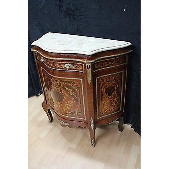 Baroque sideboard antique style chest marble baroque antique style Louis xv MkBa0063