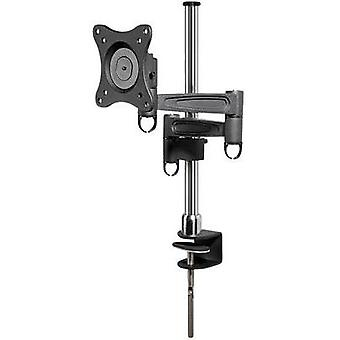 Monitor desk mount 33,0 cm (13) - 68,6 cm (27) Swivelling/tiltable Goobay