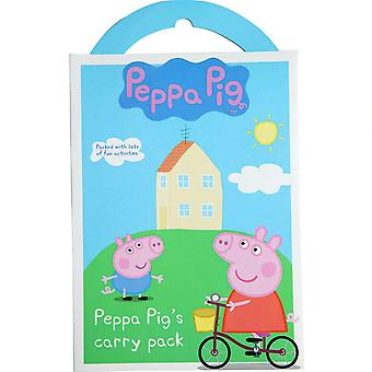 Peppa Pig Carry Pack Activity Set Stickers Gift Stocking Filler