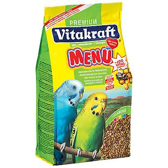 Vitakraft Budgie Food 500g (Pack of 6)