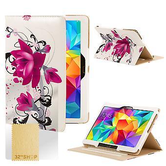 Designa boken fallet täcker för Samsung Galaxy Tab S 8,4