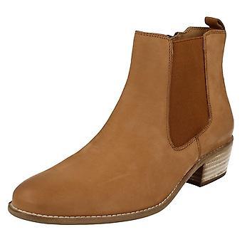 Damer ankelstøvler Van Dal Chelsea stil Benton