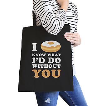 I Doughnut Know Eco Bag Funny Gift Ideas For Doughnut Lovers
