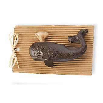 تنفث الحوت زجاجة فتاحة الساحلية 4.5 بوصة الزهر الطين دائري