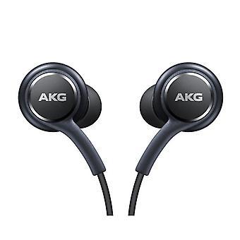 Officiella Samsung Galaxy S8 / S8 + hörlurar / öronsnäckor - trimmad av AKG / Harman Kardon - svart (EO-IG955BSEGWW) - Bulk packas