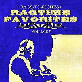Rags-to-Riches - Rags-to-Riches: Vol. 3-Ragtime Favorites [CD] USA import