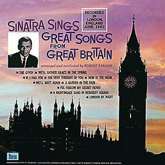 Frank Sinatra - Sinatra zingt Great Songs van Great Britian [Vinyl] USA import
