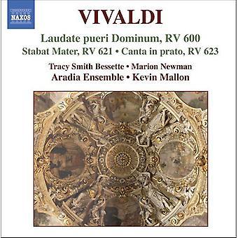 A. Vivaldi - Vivaldi: Laudate Pueri Dominum; Stabat Mater; Canta in Prato [CD] USA import