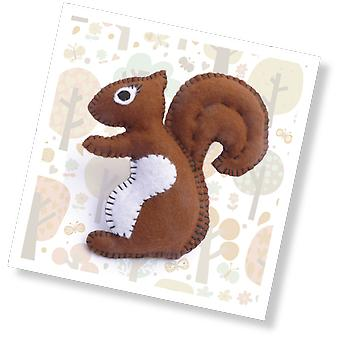 Nutmeg the Squirrel Mini Sewing Kit