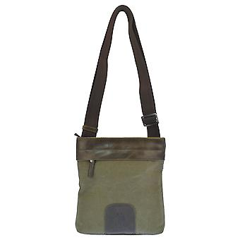 U.S. POLO ASSN. Shoulder bag with front pocket and back 20x4x22 cm
