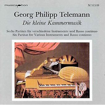 Telemann / Conrad / Koch - Partitas [CD] USA import