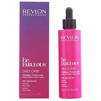 Revlon Be Fabulous Normal Daily Care Anti Age Serum 80 ml (Hair care , Treatments)
