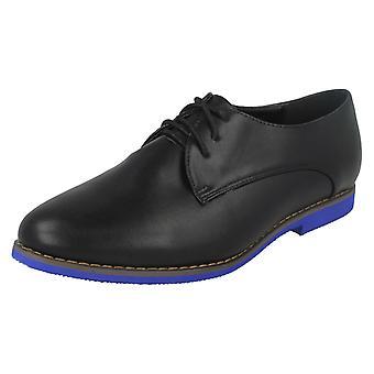 Ladies Spot On Leopard Print Flat Shoes