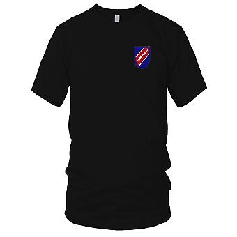 US Army - Special Troop Battalion 82nd Airborne Division Embroidered Patch - Flash Mens T Shirt
