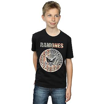 Ramones drenge Flag Seal T-Shirt