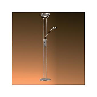 Searchlight 4329CC Polished Chrome Mother & Child Floor Lamp