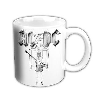 AC/DC Mug Flick Of The Switch band logo new Official White boxed