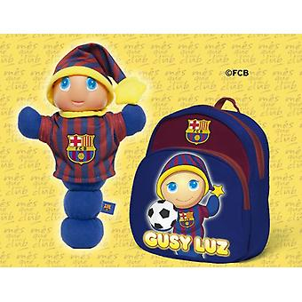Molto Gusy F.C.Barcelona + Backpack (Toys , Preschool , Dolls And Soft Toys)