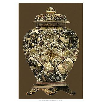 Small Amber Porcelain I (U) Poster Print by Vision studio (13 x 19)