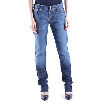 7 for all mankind ladies MCBI004024O Blau cotton of jeans