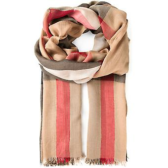 Burberry women's 3969236 Brown cashmere scarf