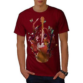 Bunte Bass Rock Männer RedT-Hemd | Wellcoda