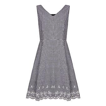 Yumi Womens/Ladies Check Dress