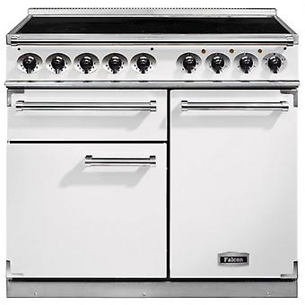 FALCON F1000DXEIWH/N 100150 - 100cm Deluxe Induction Range Cooker, Whi
