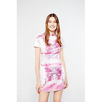Skeena S Digital Print Mini Dress