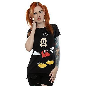 Disney Women's Mickey Mouse Surprised T-Shirt