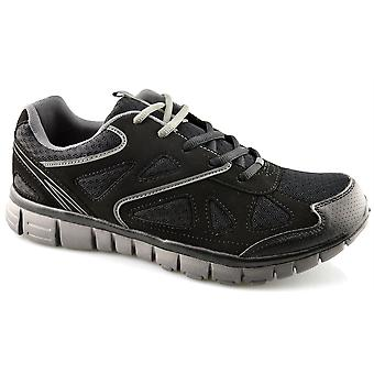 Mens Superlight Memory Foam Running Walking Joggers Lace Up Trainers Shoe