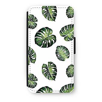 iPod タッチ 6 フリップ ケース - 熱帯を葉します。