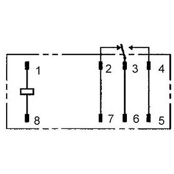 PCB relays 12 Vdc 12 A 1 change-over Omron G2RL-1-