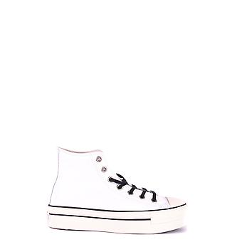 Converse women's MCBI077016O White leather of sneakers