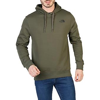 The North Face Men Sweatshirts Green