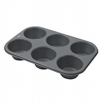Swift Bakers Pride 6 Cup Muffin Pan Non-Stick 17841114