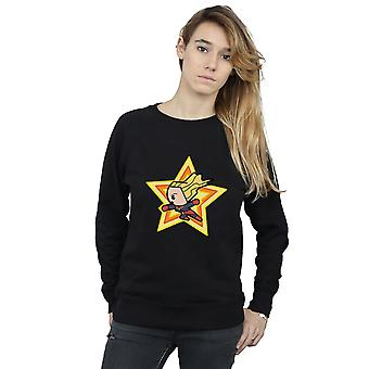 Marvel kvinders Kawaii Captain Marvel Sweatshirt