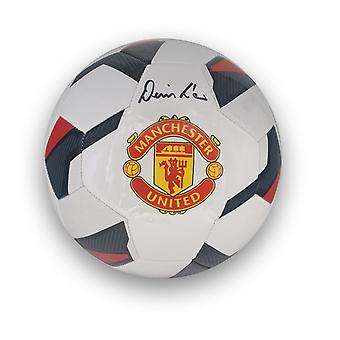 Denis Law Signed Manchester United Football