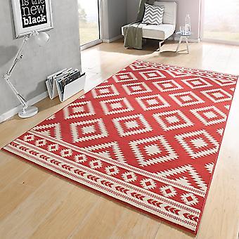 Crème de corail ethno tapis velours Design | 102411
