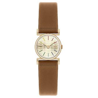 Orla Kiely Cecelia Brown Leather Strap OK2046 Watch